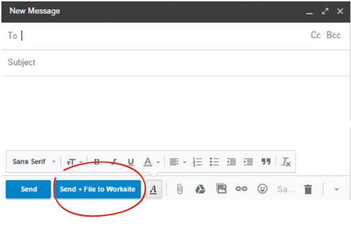 Gmail2Work